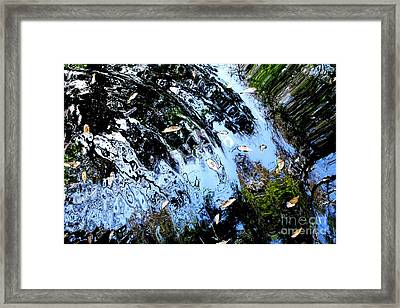 Ripples And Reflections Framed Print by Theresa Willingham
