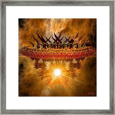 Rising Asian Sun Framed Print by Michael Durst