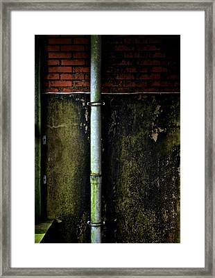 Rising Damp Framed Print by Odd Jeppesen