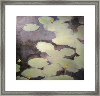 River 1 Framed Print by Olexiy Lytvynenko