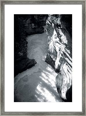 River Fall Part 2 Framed Print by Marcin and Dawid Witukiewicz