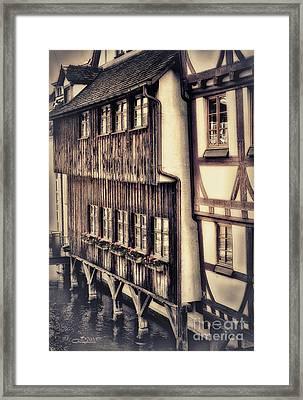 River House Framed Print by Jutta Maria Pusl
