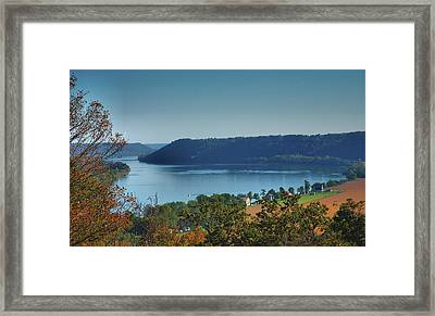 River View IIi Framed Print by Steven Ainsworth