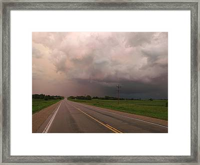 Road To Everywhere Framed Print by Brian  Maloney