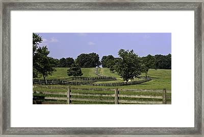 Road To Lynchburg Framed Print by Teresa Mucha