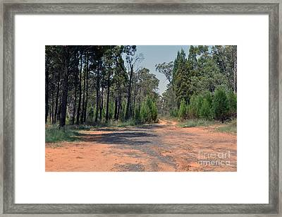 Road To Nowhere Framed Print by Joanne Kocwin