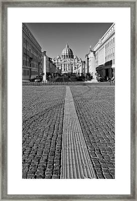 Road To Salvation Framed Print by Michael Avory