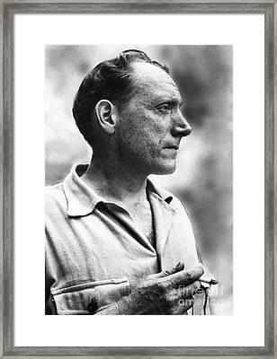 Robert Penn Warren Framed Print by Granger