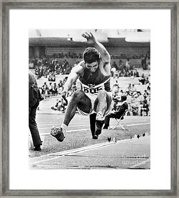 Roberto Carmona (1943- ) Framed Print by Granger