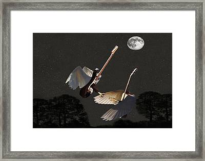 Rock Angels  Framed Print by Eric Kempson