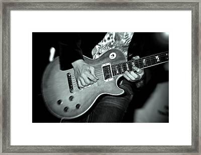 Rock On Framed Print by Kamil Swiatek