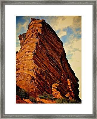 Rocky Colorado  Framed Print by Zenia Rodriguez