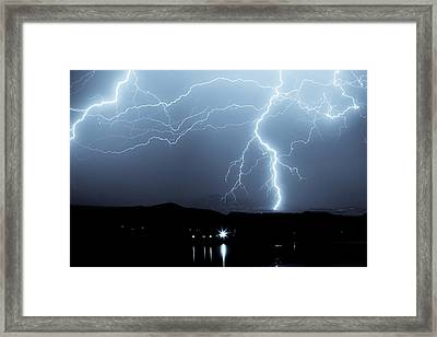 Rocky Mountain Storm  Framed Print by James BO  Insogna