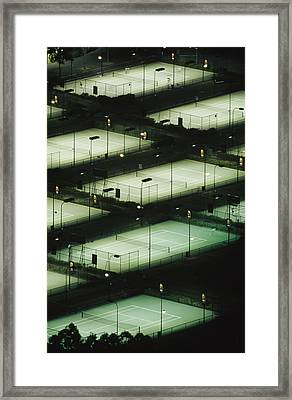 Rod Laver Arena Tennis Complex Framed Print by Jason Edwards