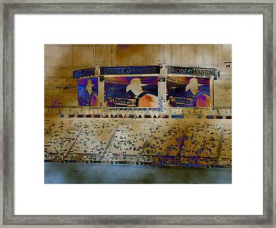 Rodeo Houston Framed Print by Connie Fox