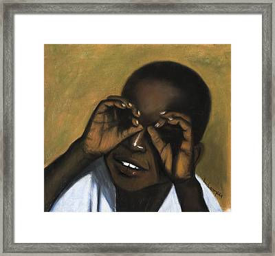 Role Model Framed Print by L Cooper