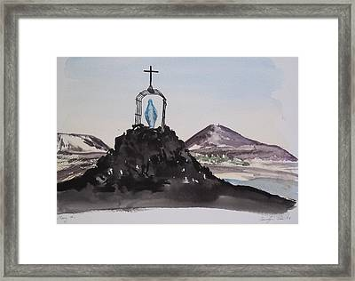 Roll Cage Mary Of Antarctica Framed Print by Carolyn Doe