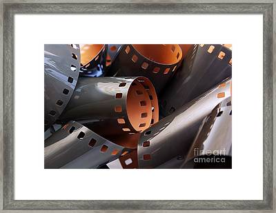 Roll Of Film Framed Print by Carlos Caetano