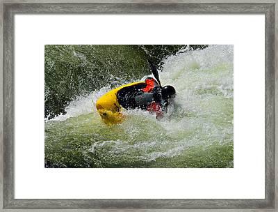 Rolling Down The River  Framed Print by Susan Leggett