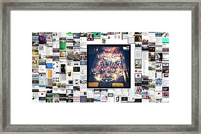 Rolling Stones Framed Print by Holley Jacobs