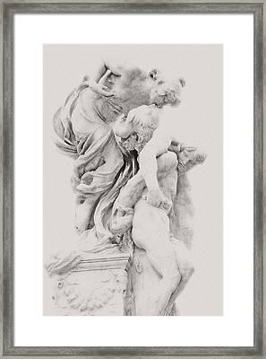 Roman Love Framed Print by Dima Kirlov