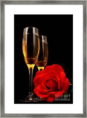 Romance Framed Print by Darren Fisher