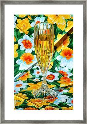 Romantic Gold Framed Print by LeeAnn McLaneGoetz McLaneGoetzStudioLLCcom