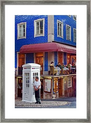 Romantic Sintra Framed Print by Dias Dos Reis