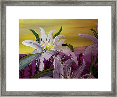 Romantic Spring Framed Print by Mark Moore