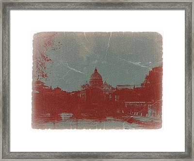 Rome Framed Print by Naxart Studio