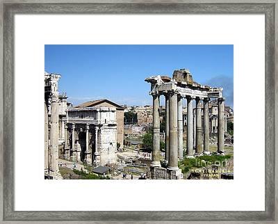 Rome Framed Print by Yury Bashkin