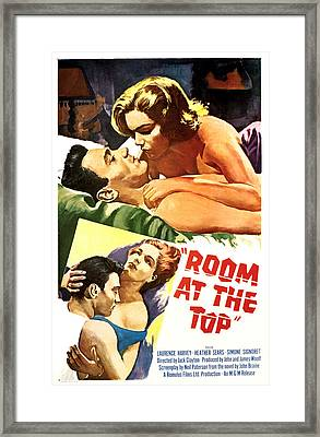 Room At The Top, Simone Signoret Framed Print by Everett