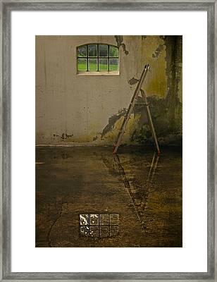 Room For Reflection Framed Print by Odd Jeppesen