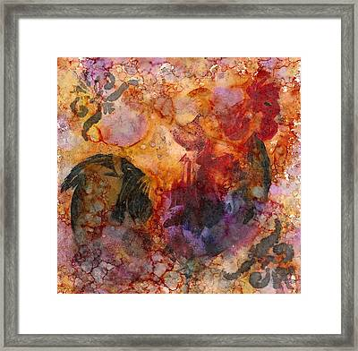 Rooster 1 Framed Print by Rosie Phillips