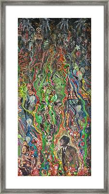 Root Of All Anxiety Framed Print by Douglas Fromm