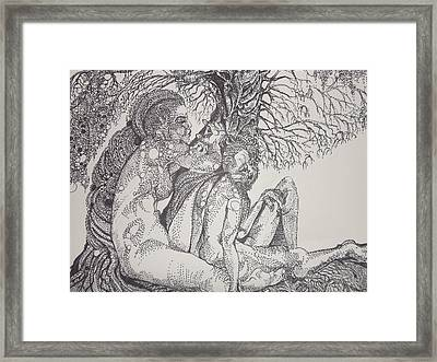 Roots Framed Print by Michol Childress