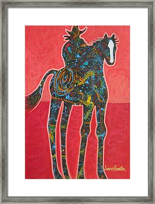 Rope One Framed Print by Lance Headlee