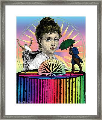 Rose Of The Winds Framed Print by Eric Edelman