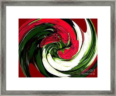 Roses  Framed Print by Francoise Leandre