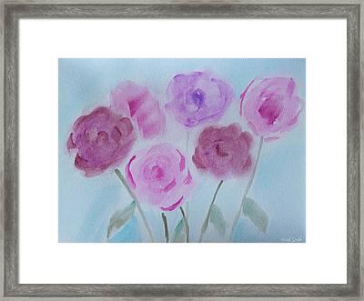 Roses Framed Print by Heidi Smith
