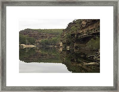 Ross Graham Gorge Framed Print by Robert Caddy
