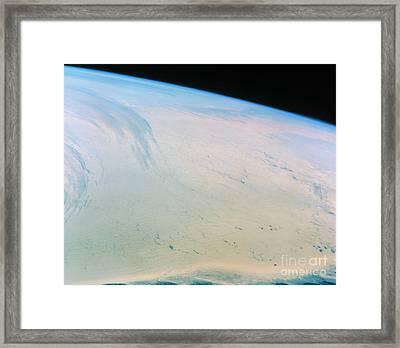 Ross Ice Shelf, Antarctica Framed Print by NASA / Science Source