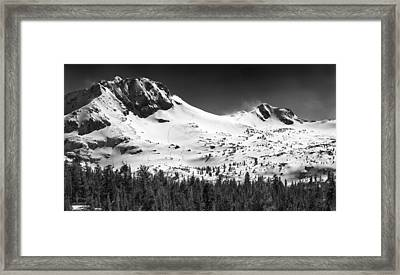 Round Top Mountain Framed Print by A A