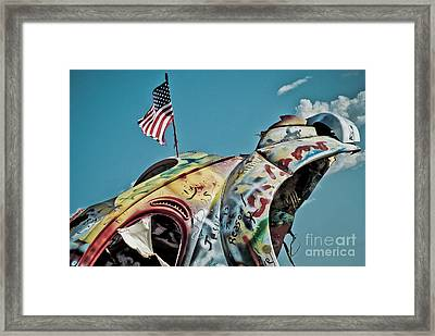 Route 66 - Bug Ranch 01 Framed Print by Jak of Arts Photography