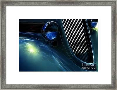 Route 66 Show And Go Framed Print by Bob Christopher