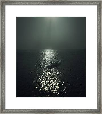Row Boat Framed Print by James Ingham