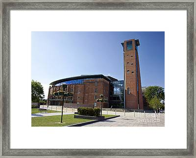 Royal Shakespeare Theatre Framed Print by Jane Rix