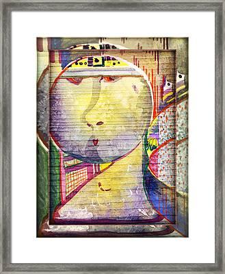 Rrrrooobot Framed Print by Mindy Newman