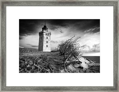 Rubjerg Knude Framed Print by Paul Davis