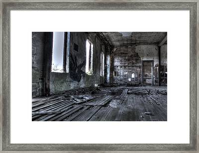 Ruined Framed Print by Andrew Pacheco